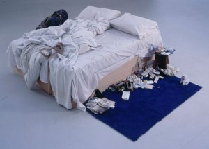 photograph by performance artist Tracey Emin
